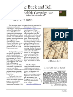 """The Buck and Ball"" (Newsletter of the Augusta County Militia) Philadelphia Campaign, 2010."