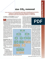Optimize CO2 Removal