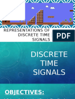 Representations of Discrete Signals