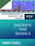 Representations of Discrete Signals