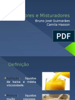 Agitadores - Seminário - Bruno e Camila