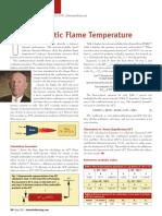Adiabatic Flame Temperatrue
