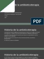 14.Historia de La Antibioticoterapia