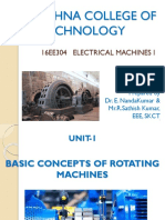 Electrical Machines - Unit II