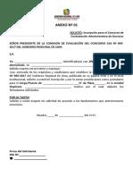 FORMATOS - ANEXOS CAS05