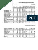 Cronograma de Adquisicionde Materiales y de Desembolsos San Jeronimo