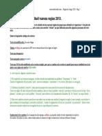 Reglamento Oficial Handball Ihf y Cah