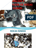 Analisis y Descripcion de Rocas