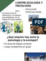 Relación Entre Ecología y Psicología