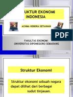 BAB 3. Struktur Ekonomi
