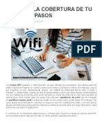 Aumenta La Cobertura de Tu Wifi en 10 Pasos