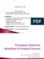 3. Penyiapan Dokumen Akreditasi Di Instalasi Farmasi