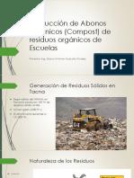 Producción de Abonos Orgánicos (Compost) De