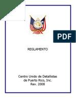 Reglamento CUD- Centro Unido de Detallistas