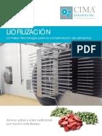 Liofilización - Industria Alimenticia