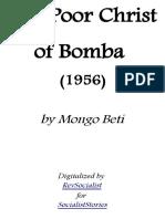 The Poor Christ of Bomba - Mongo Beti.pdf