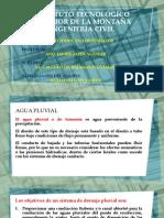 2.6. Cálculo de Bajadas Pluviales.