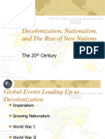 Decolonization and the Rise of New States PPT