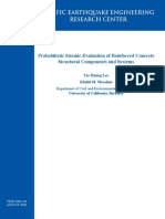 2006 - Lee and Mosalam - Probabilistic Seismic Eveluation of Reinforced Concrete Structural Components and Systems-PEER Report