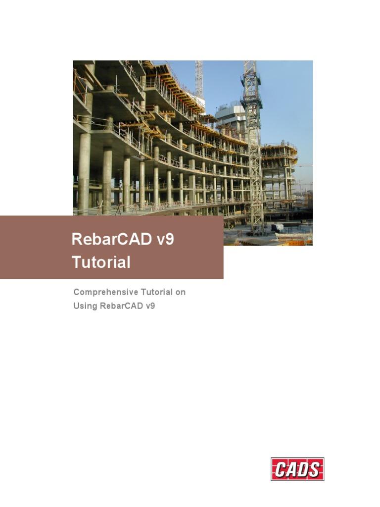 RebarCAD v9 Tutorial v2 | Computer Aided Design | Autodesk