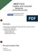 MKET1313 - Local Area Network (LAN)