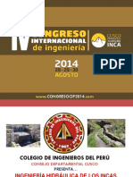 Congreso Internacional.cusco.2014