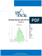 Getting Started With SPC for Excel