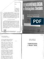 Fenomenologia e Relações Sociais