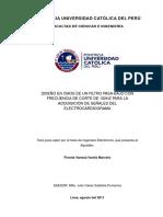 Varela Marcelo Fiorela Filtro Pasa Bajo Electrocardiograma