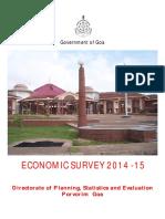 Economic Survey 2014-15