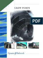 Spaans Screw Pumps Brochure