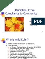 Kohn - Beyond Discipline - From Compliance to Community