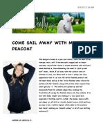 Pea Coat - Scribd PDF