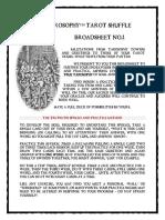 Broadsheet - the First Spread