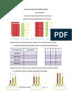 Evaluaciones Matematica Tercero