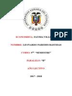 Economia Leonardo Paredes