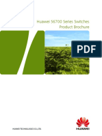Huawei S6700 Series Switches Product Brochure