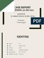 Vincent's Case Report.pptx