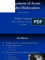 Campion-Management of Acute Shoulder Dislocation.ppt