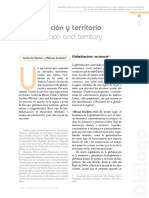 Globalizacion y Teritorio Carlos de Mattos y Alfonso Iracheta