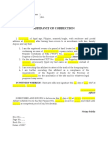 Affidavit of Correction - for Loon.docx