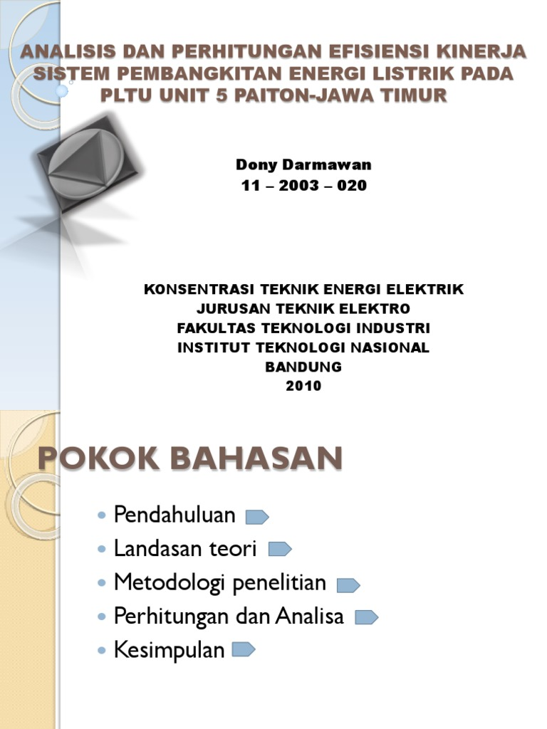 Perhitungan Turbin Uap Ebook