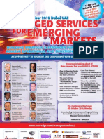 Managed Services for Emerging Markets Conference Brochure Cover