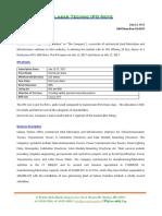 Salasar Techno IPO