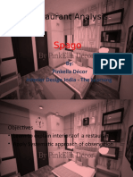 Interiors Analysis - Restaurant Interior Analysis