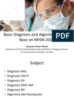 Basic Diagnosis and Algoritme of HAIs ADW HIPPII Jatim 2017