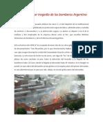 Incendio Barracas Argentina