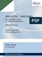 Infineon Xmc4700 Xmc4800 Ds v01 00 En