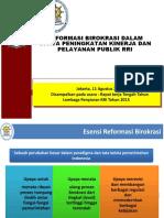 Reformasi Birokrasi OK