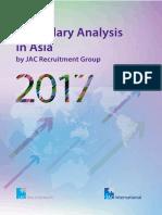 Jac Salary Analysis 2017